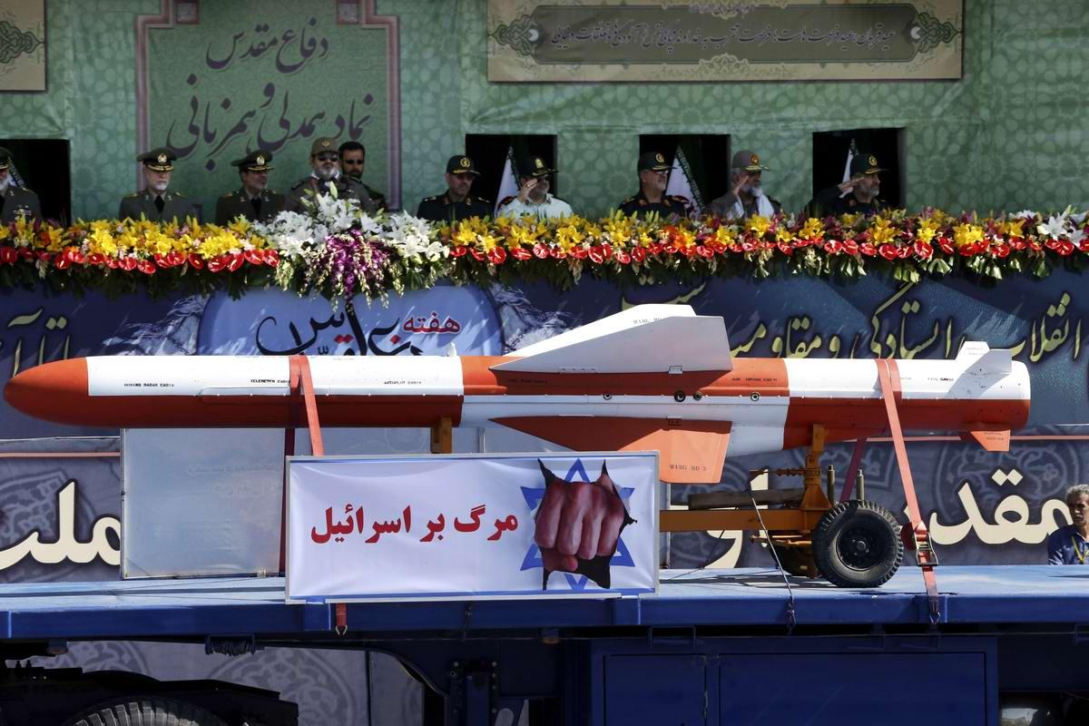 К 35-летию с момента начала ирано-иракской войны: Военный парад в Тегеране (13)