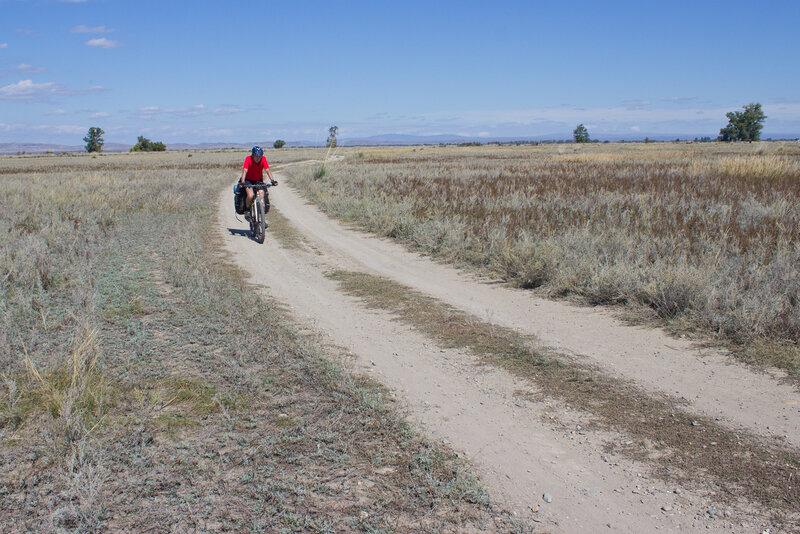 дорога к Алгабасу