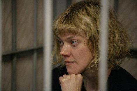 Сини Саарела, захваченная Россией активистка «Гринпис» — 26 сентября 2013 г. © Игорь Подгорный, «Гринпис»