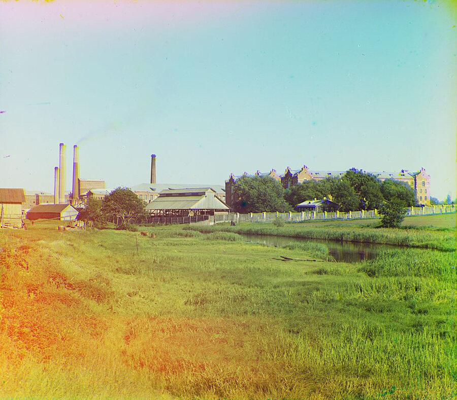 Каулинская фабрика на р. Тьмаке. Лето 1910 года