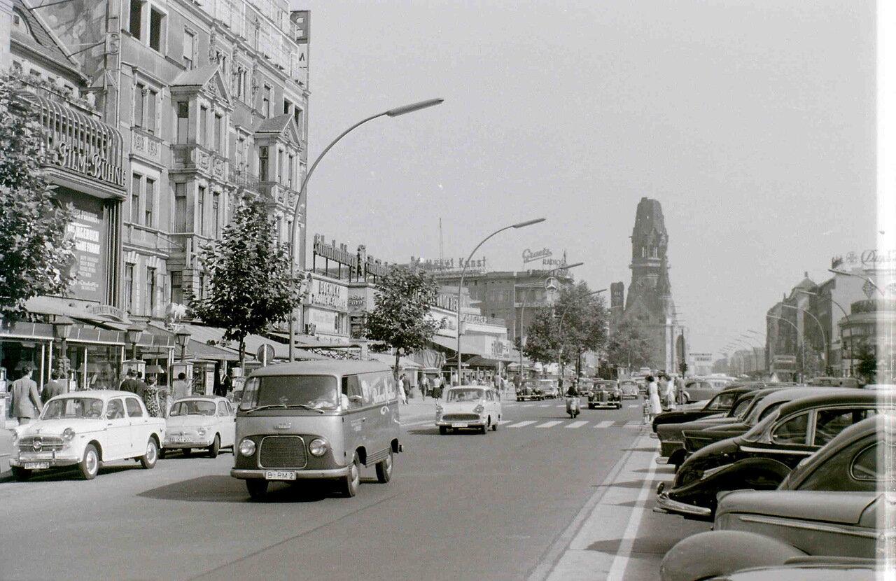 11 сентября 1959. Курфюрстендамм, Западный Берлин
