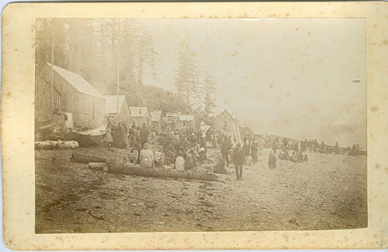 1888. Тлинкиты в Джуно