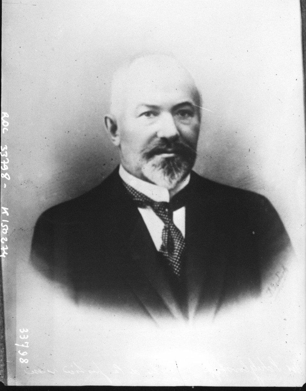 Иван Григорьевич Щегловитов, министр юстиции.  Был одним из инициаторов и ключевых фигур в организации «ритуального процесса»