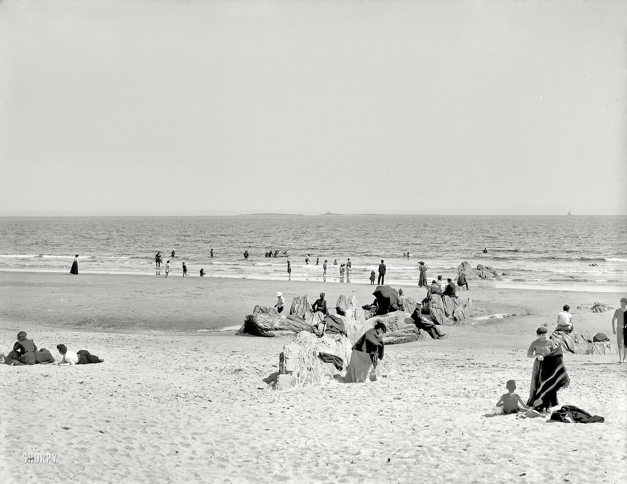 1904. На пляже