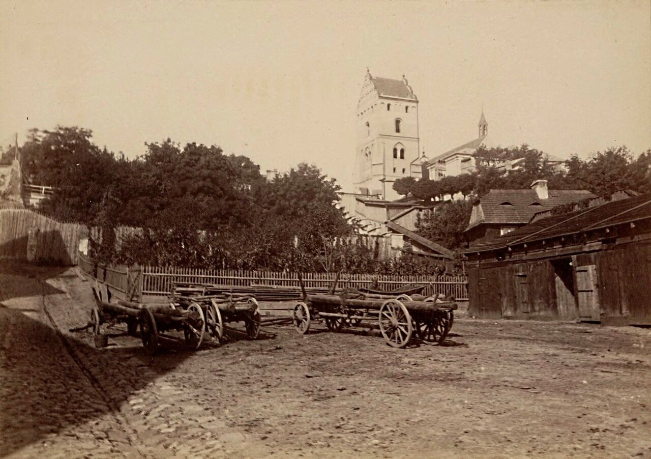 1860-е. Костел Пресвятой Девы Марии