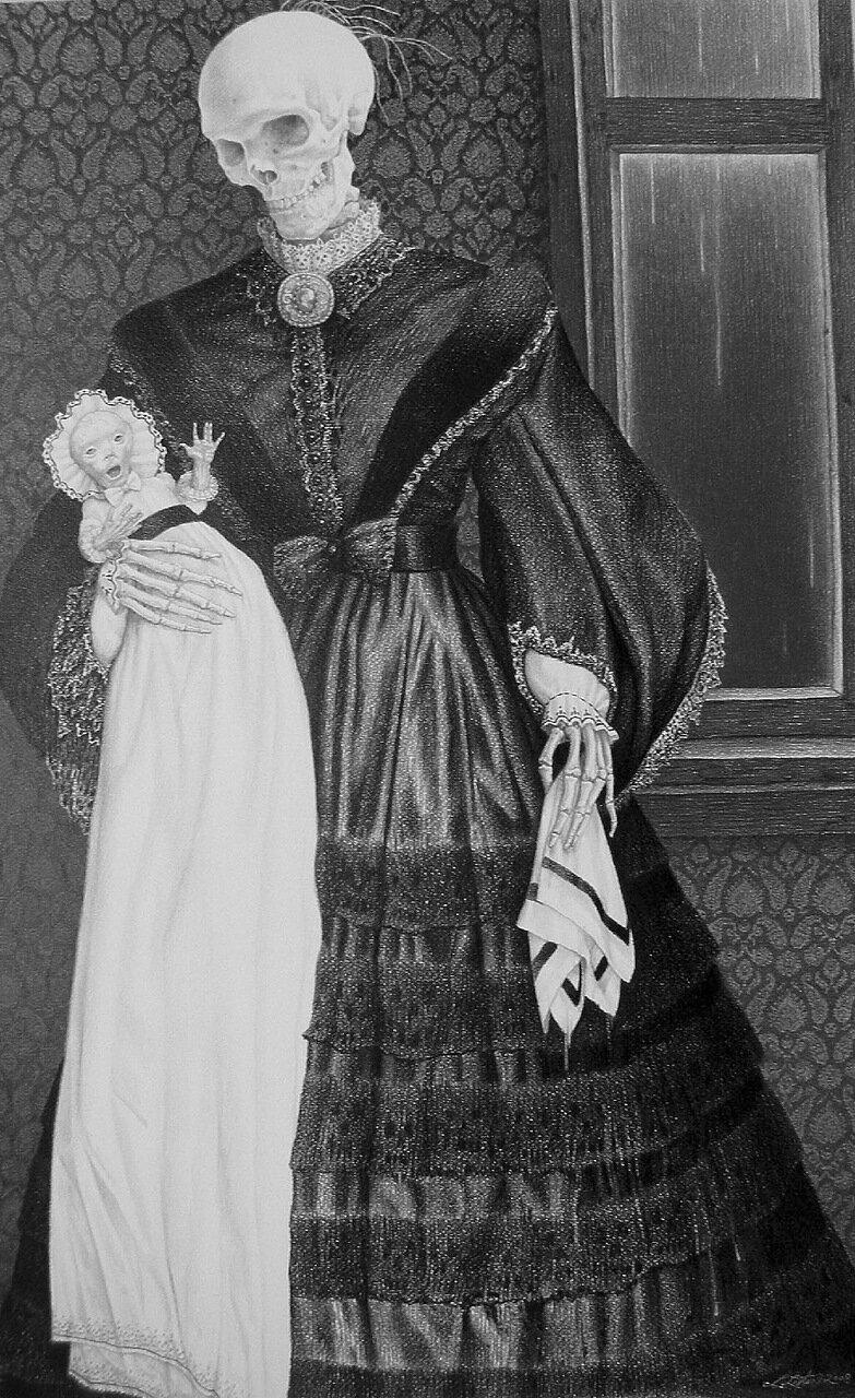 Посмертная мать. 2008