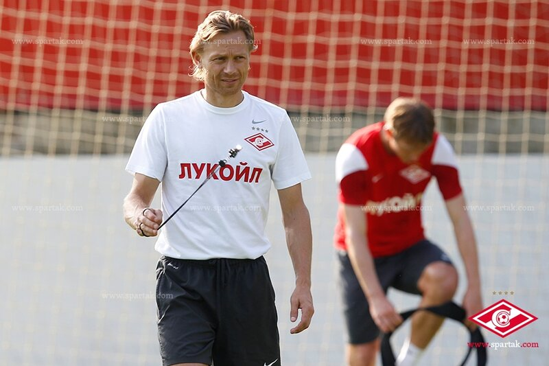 «Спартак» готовится к матчу с «Рубином» (Фото)