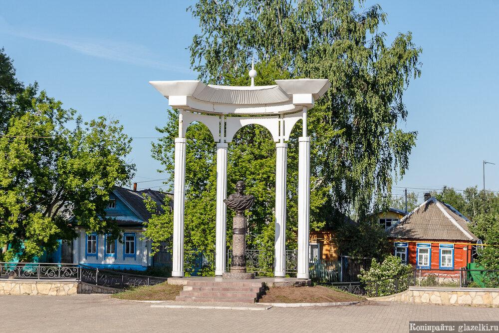 Памятник Марине Цветаевой.