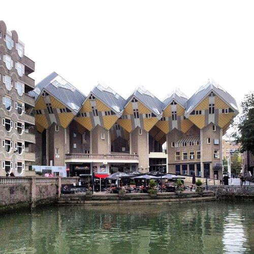 Кубические дома