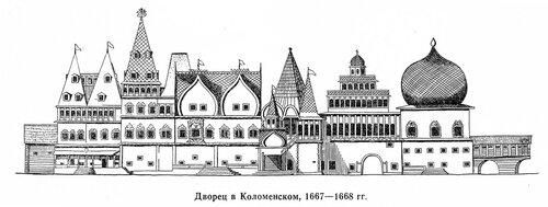 Дворец царя Алексея Михайловича , фасад