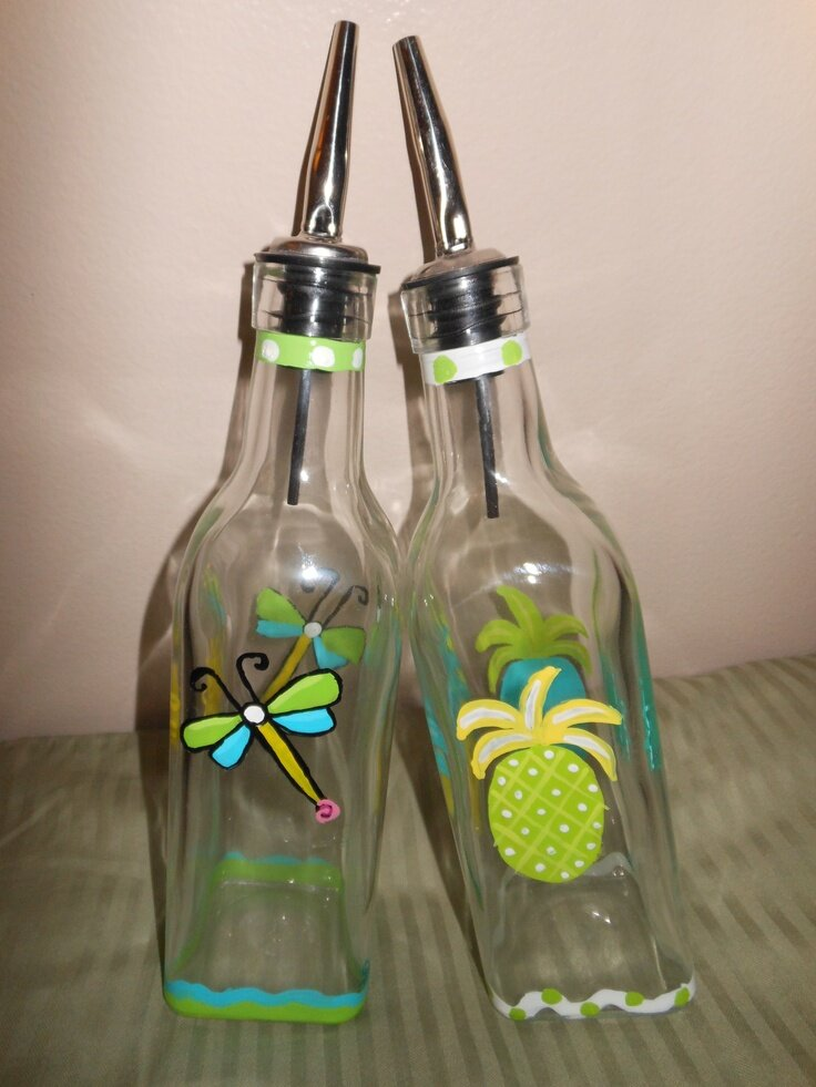 декор бутылок