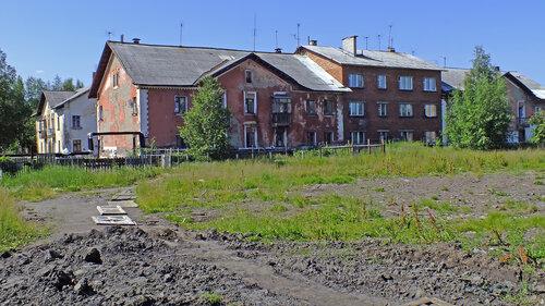 Фото города Инта №5145  Коммунистическая 11, 10, 9 и 8 16.07.2013_12:19