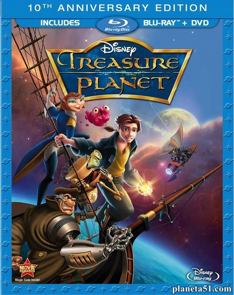 Планета сокровищ / Treasure Planet (2002/BDRip/HDRip)