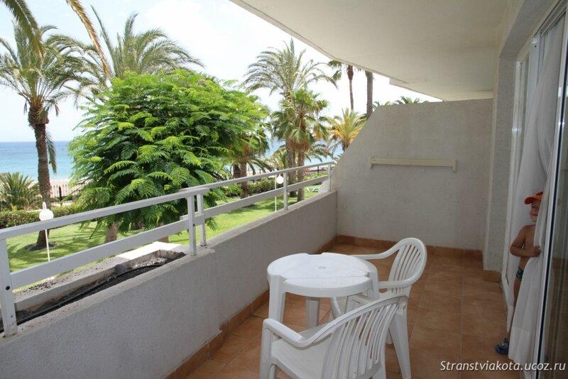 Балкон в апартаменте в Sol Lanzarote