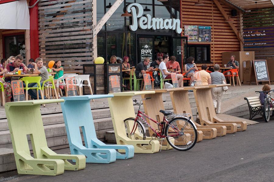 Байк-поло Bike Polo в парке Горького 14.07.2013