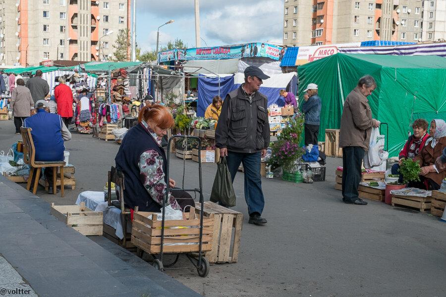 "Рынок ""Ягуар"", Петрозаводск"