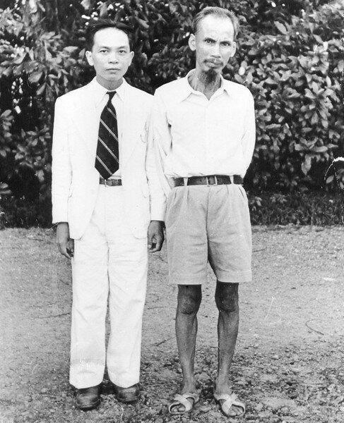 Ho Chi Minh, Vo Nguyen Giap
