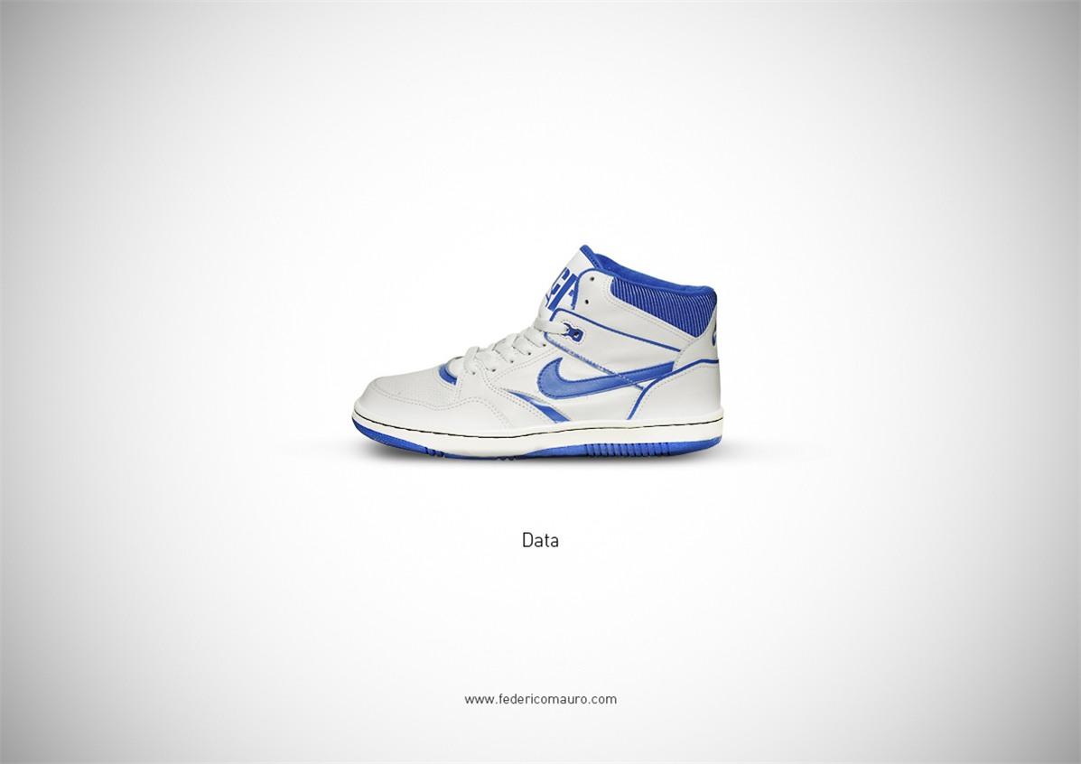 Знаменитая обувь культовых персонажей / Famous Shoes by Federico Mauro - Richard -Data- Wang