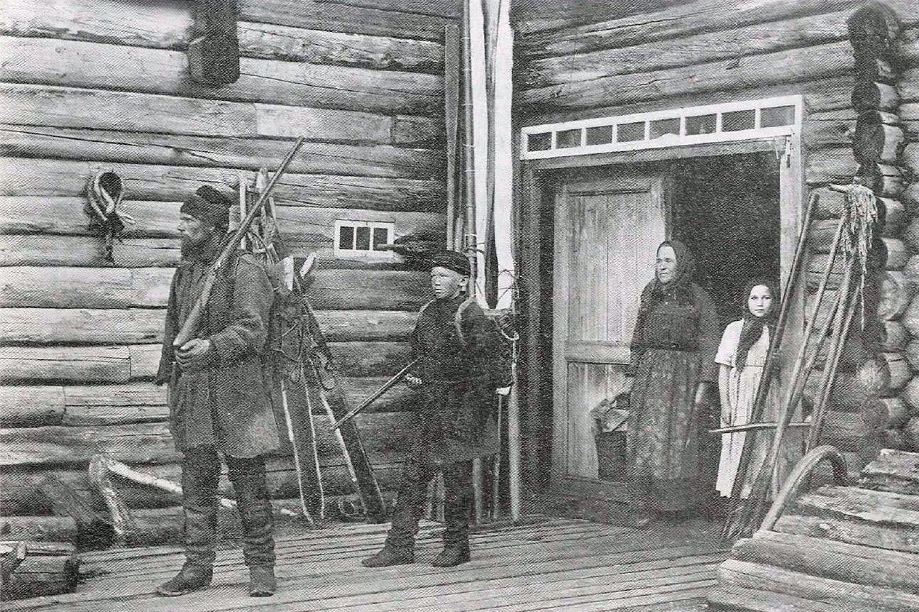 На охоту. 1894