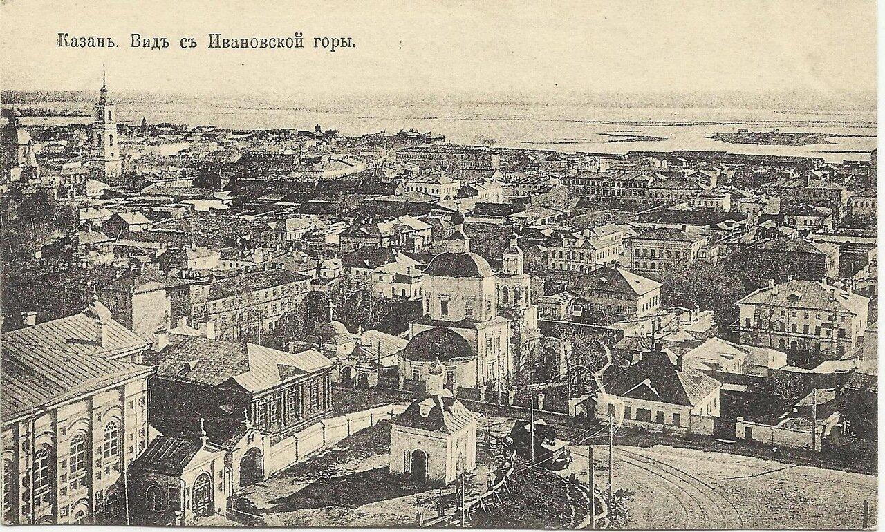 Вид с Ивановской горы