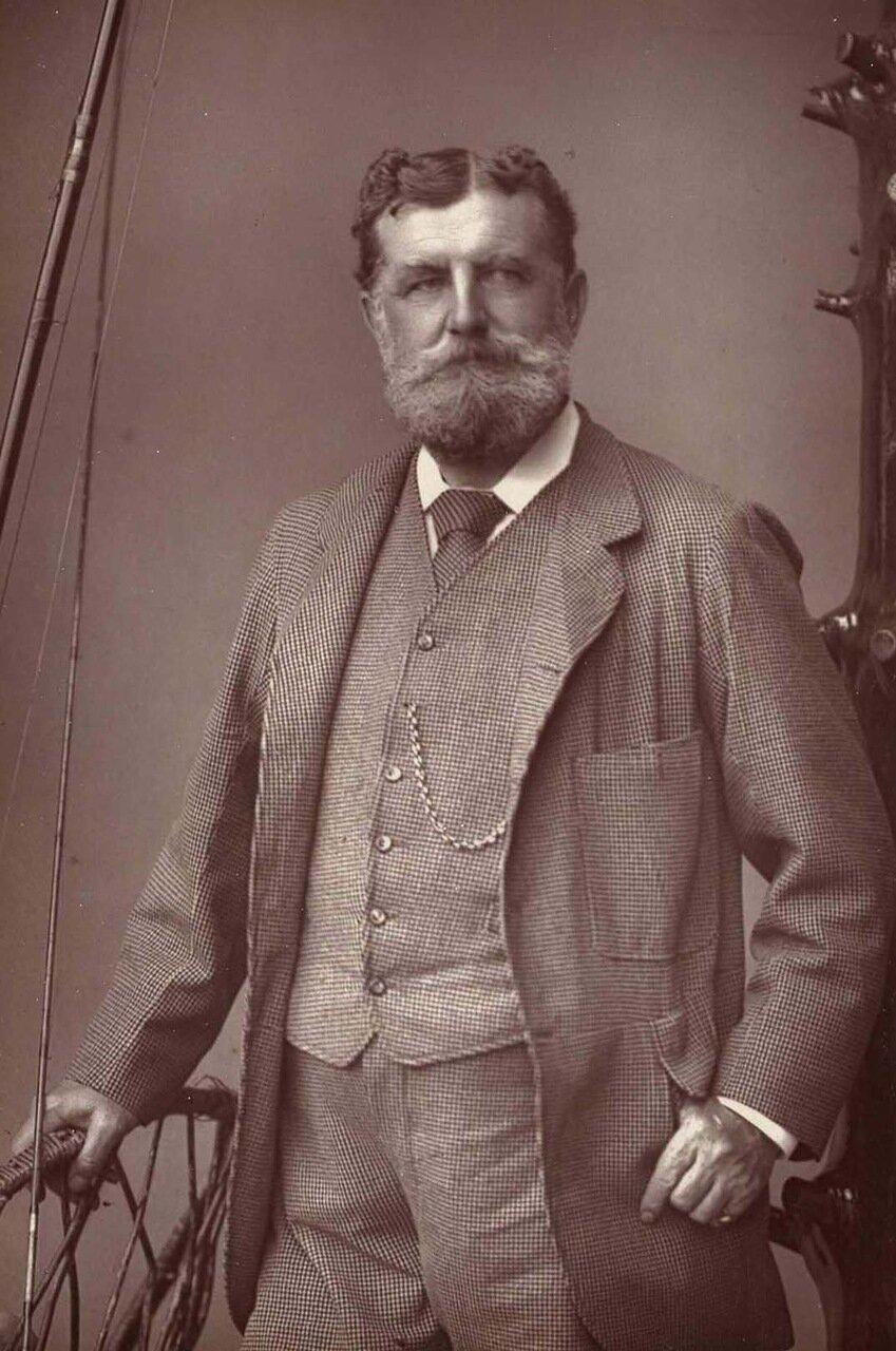 Кристофер Тисдейл. 1833-1893. Генерал-майор и обладатель Креста Виктории во время Крымской войны