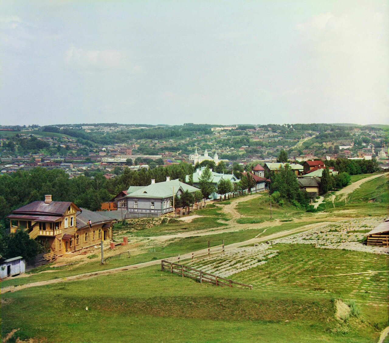 Общий вид северо-западной части г. Смоленска