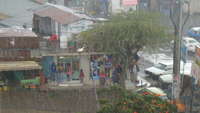 Аддис-Абеба. Тропический ливень