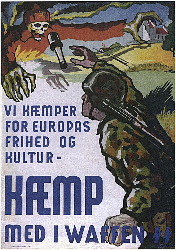 военные плакаты, новая Европа