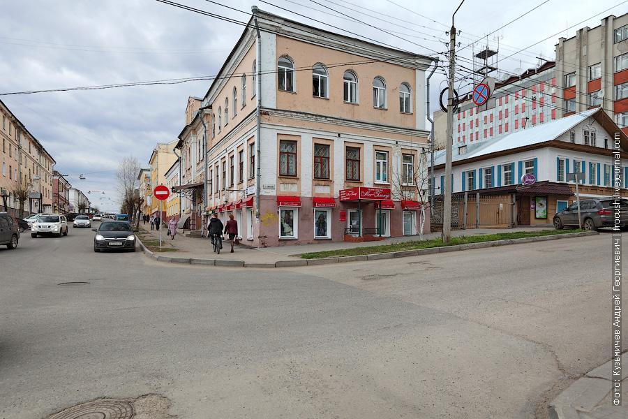 Перекресток улиц Спасской и Свободы, Киров