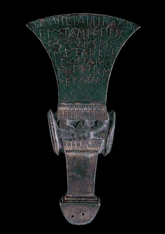 Western Greek Axe-Ritual Equipment c.520 BC