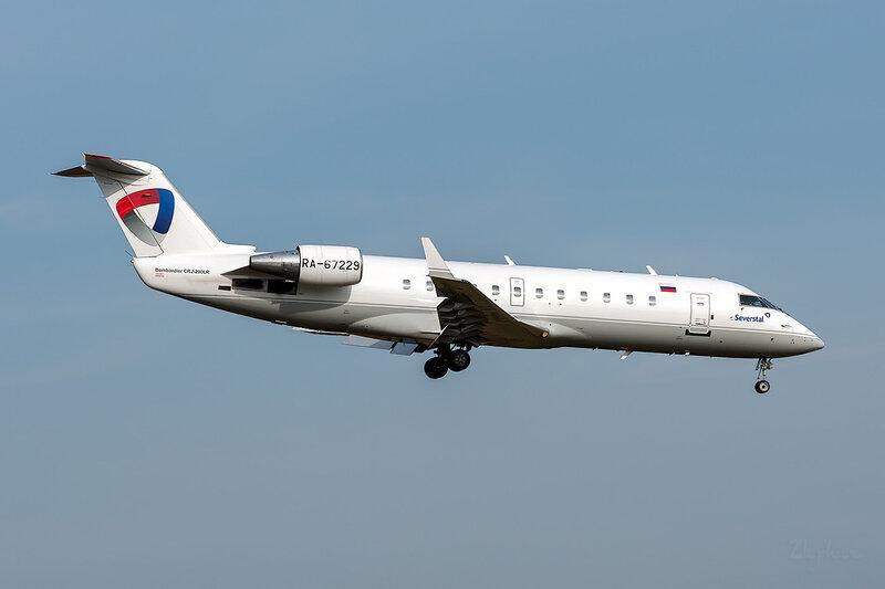 Bombardier CRJ-200LR (RA-67229) Северсталь DSC_3613