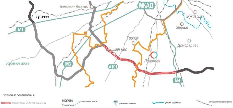 Московская область проект