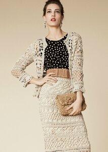 Шикарный костюм из коллекции Dolce&Gabbana 2013 крючок