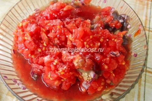 помидоры для икры из баклажанов