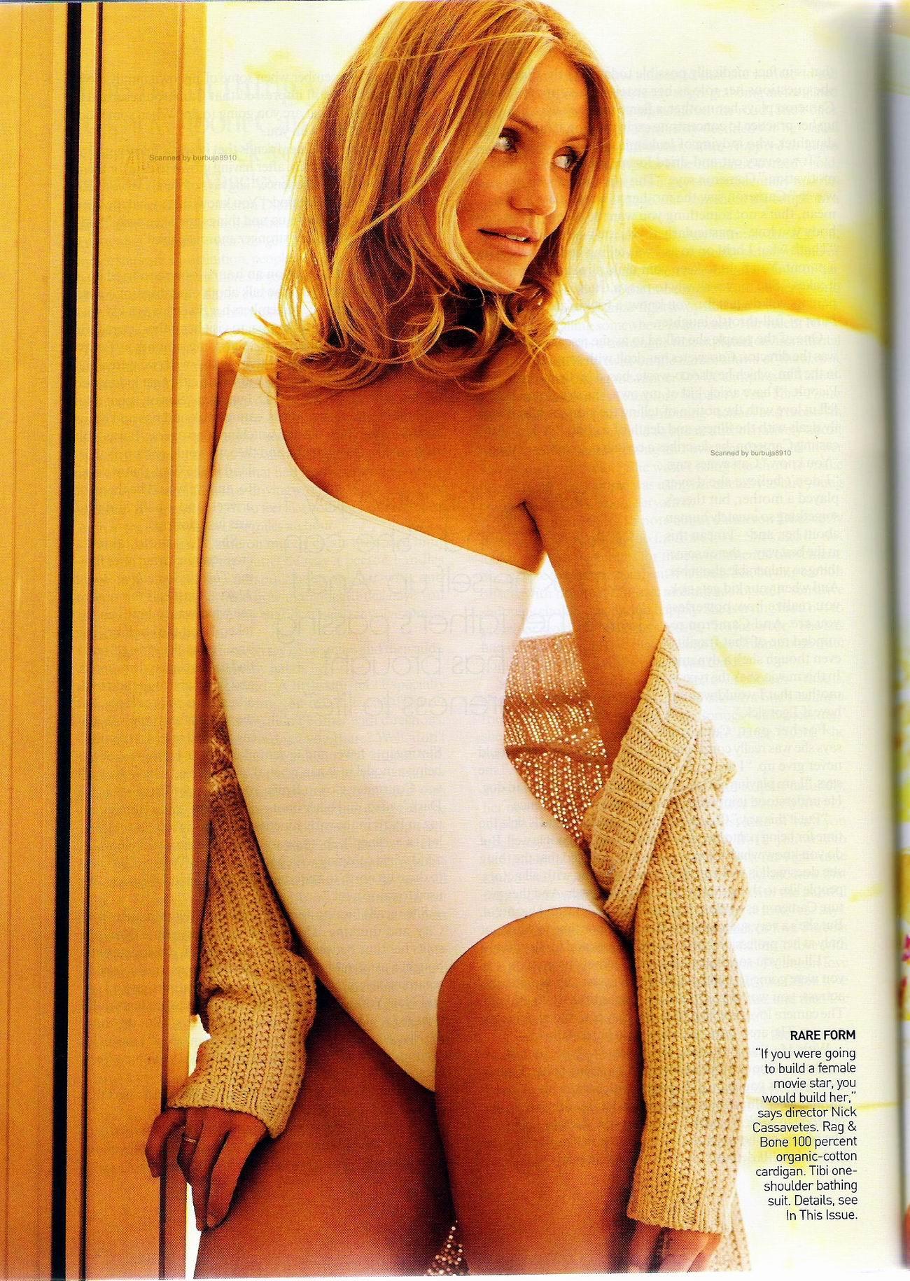 Кэмерон Диас (Cameron Diaz) в журнале Vogue США, июнь 2009