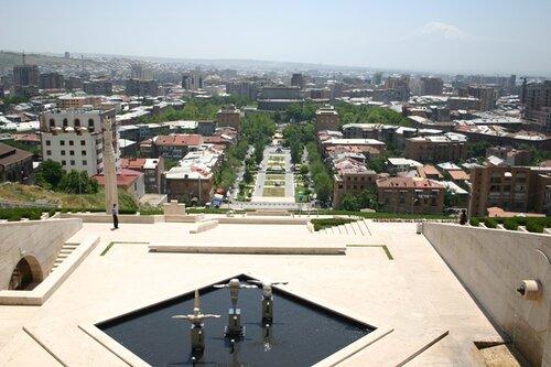 панорама Еревана