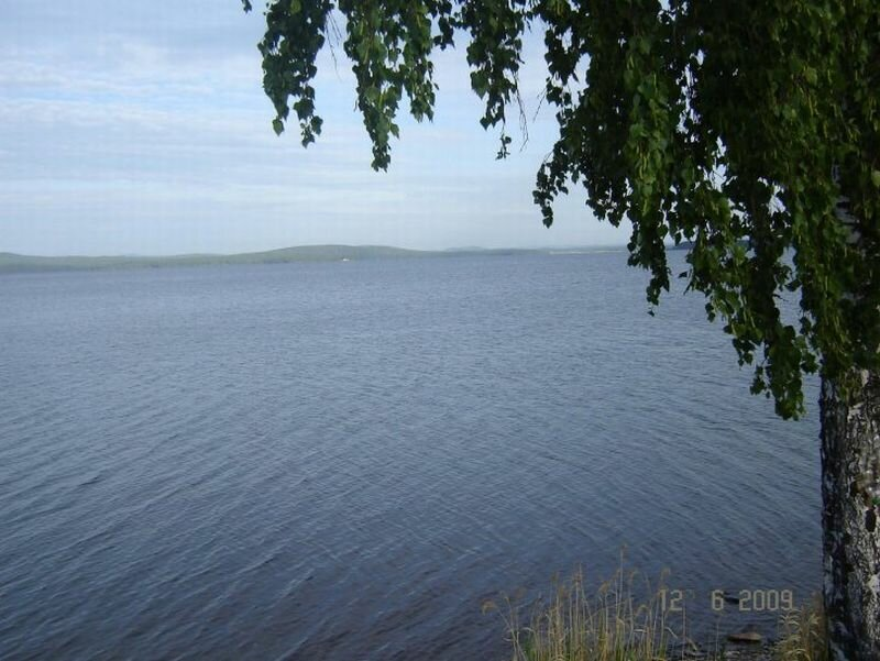 Гладь озера Синара (16.09.2013)