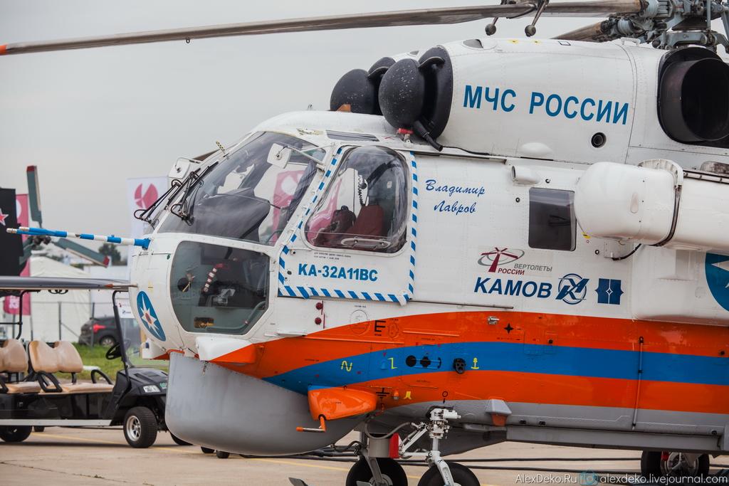 Эскпонаты на МАКС 2013. Репортаж.