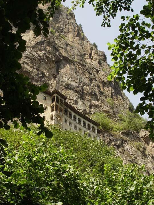 Монастырь Сумела (Sumela Monastery)