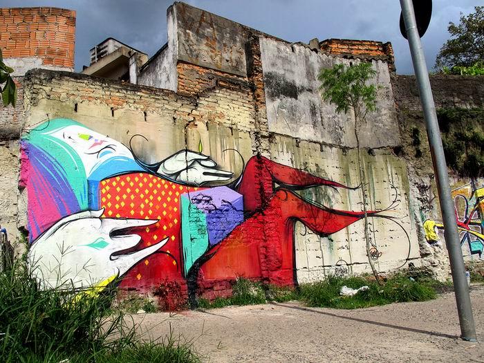 [суб]культура: Граффити5a8 по-бразильски. ©Digitalorganico. 30 работ.