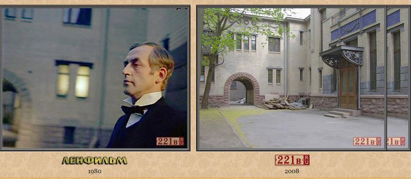 Идём дальше, на Кронверкский проспект, особняк Кшесинской. В фильме это клуб «Багатель». Дом построен чуть более 100 лет назад, в 1904-1906 гг.