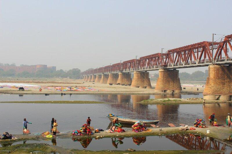 Мост на р.Ямуна