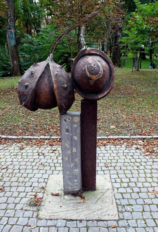 Арт-объект Каштаны в Мариинском парке