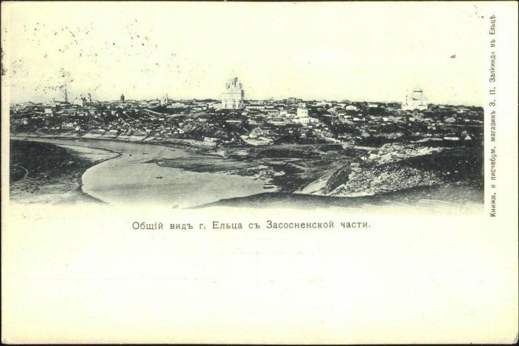 Общий вид города с Засосненской улицы