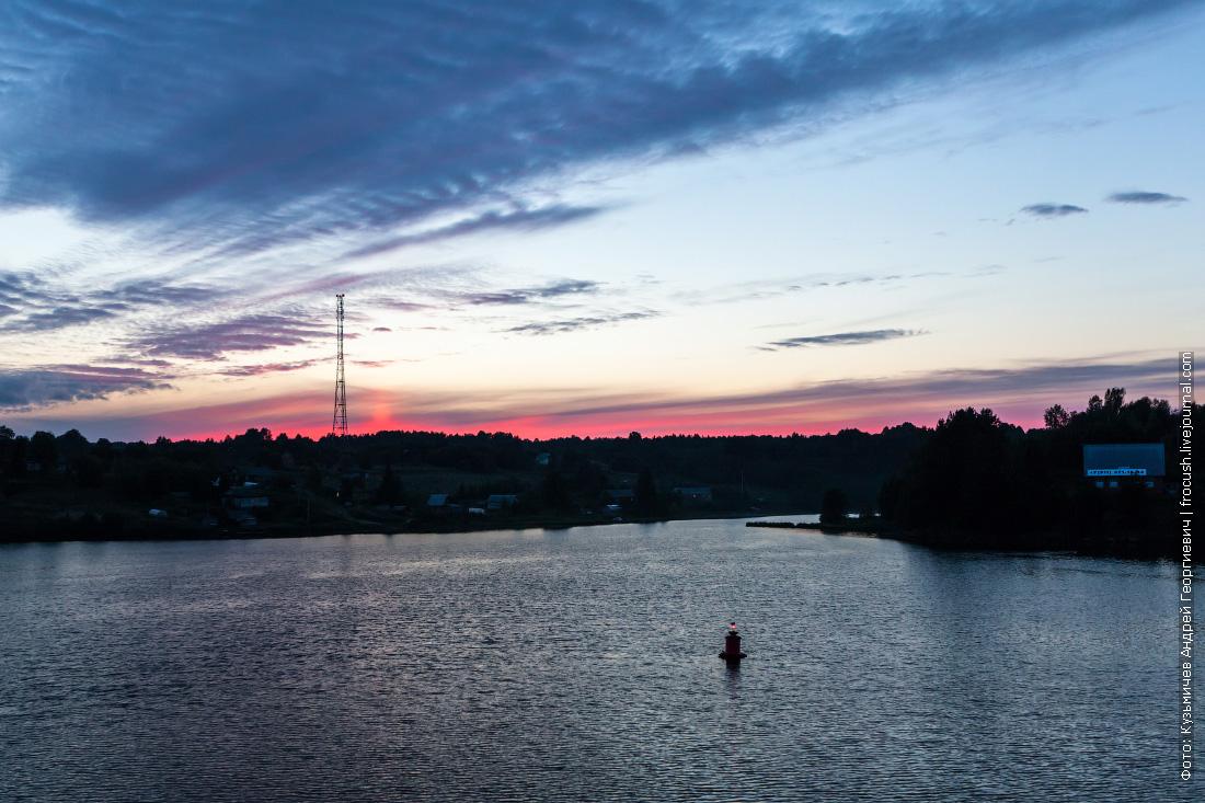 река свирь ночное фото