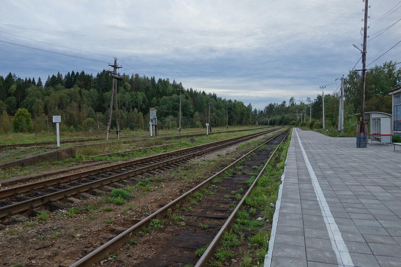 станция Хийтола Окт ЖД