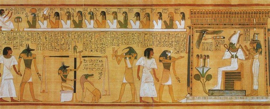 Почему египтяне изображали всех людей плоскими и в профиль