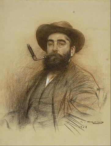 Ramon Casas - Self-portrait - Google Art Project