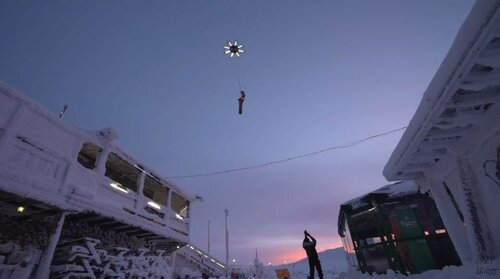 Летающий Санта и его Дрон