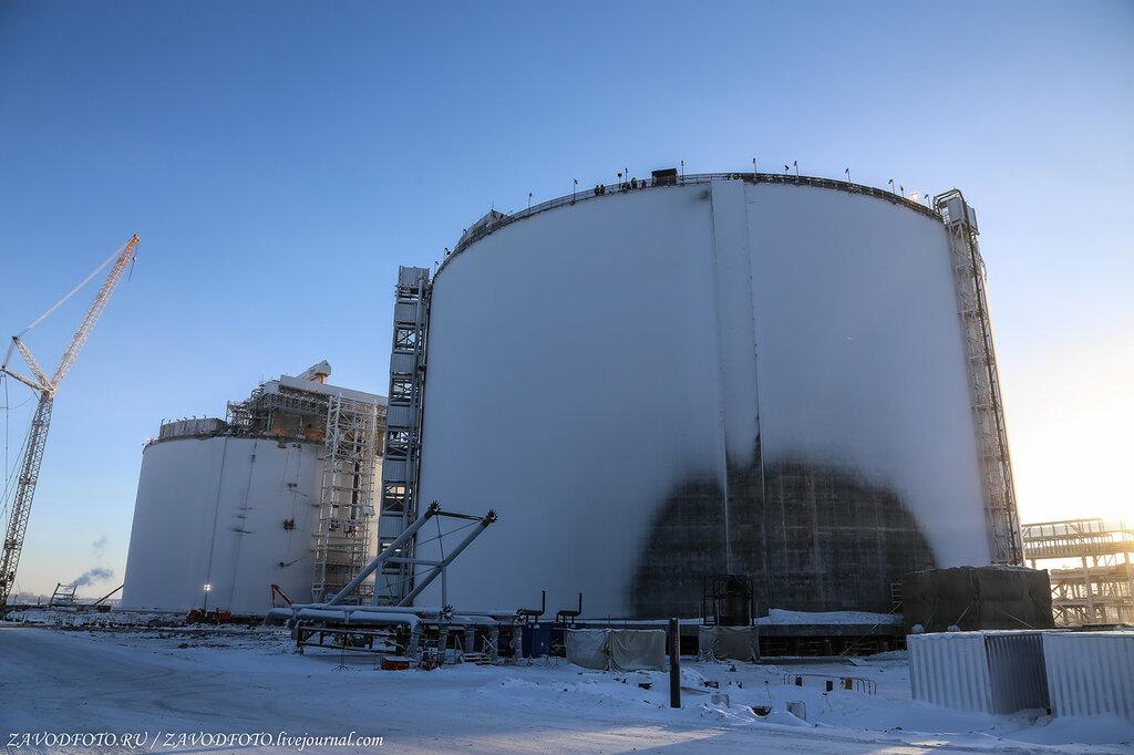 Какой он самый крупный арт-объект в Арктике нефтегазовая